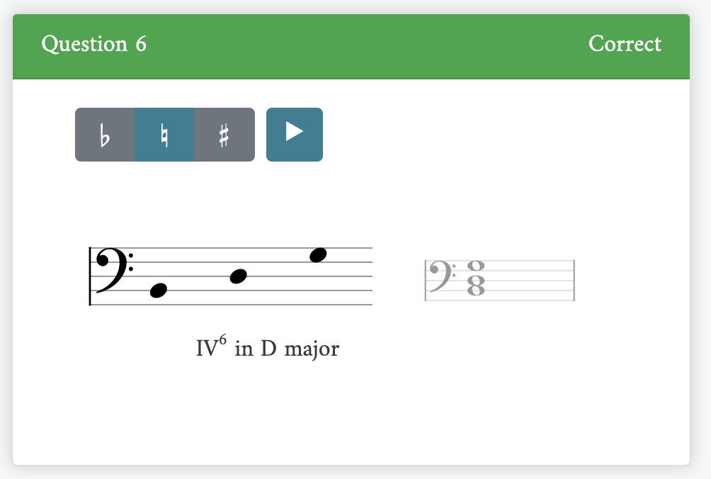 Exercises showing chord creation